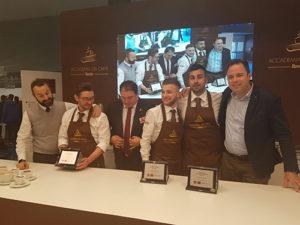 finalisti della selezione del V Gran Premio della Caffetteria Italiana